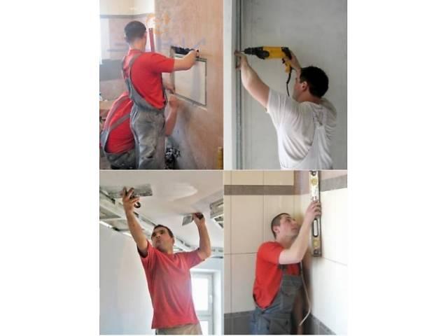 бу Робота!Потрібні мастера універсали для внутріньої отделки квартир.  в Украине