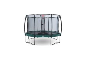 Батут Berg Elite +Regular Green 380 + Safety Net T-Series 380