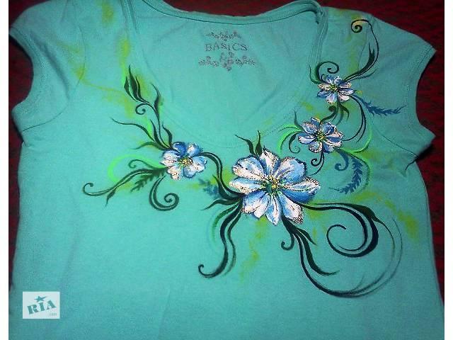продам Рисунок на одежде ручной работы бу в Запорожье