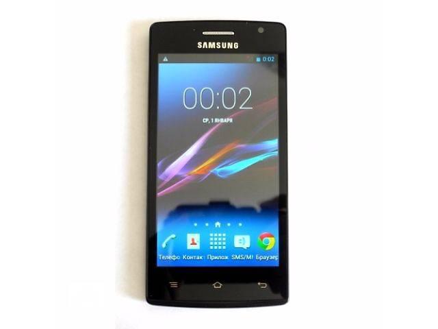 Samsung Galaxy Q007 копия 2SIM Android 4.4 экран 4.5 дюйма 2 ядра 512 МБ ОЗУ- объявление о продаже  в Одессе