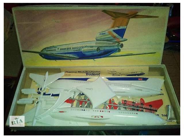 продам Сборная пластиковая модель авиации Trident Plasticart (ГДР) бу в Киеве
