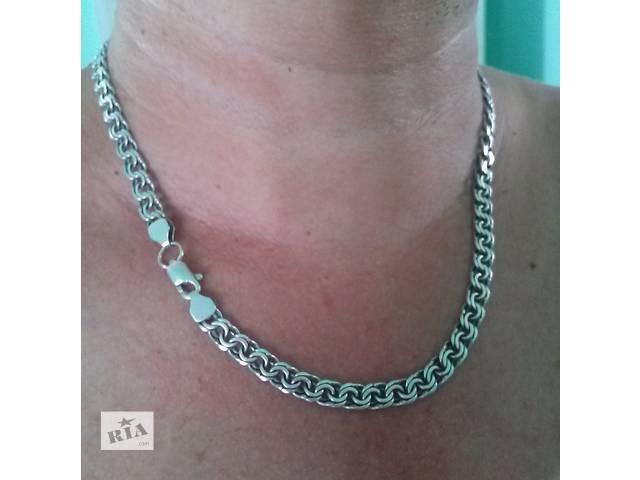 Серебряная цепочка мужская.- объявление о продаже  в Запорожье