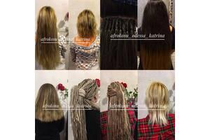 Афрокосички зизи де косы косички брейды