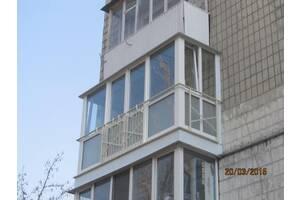 Балконы и окна в Киеве.