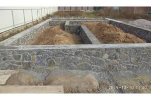 Строим заборы из камня, фундамент, погреб и другие каменные сооружения
