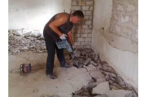 Демонтаж • Демонтажные работы • Вывоз строительного мусора • Алмазная резка