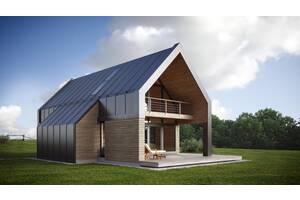 Індивідуальне проектування будинків, котеджів. Проект під ключ разом з дизайн проектом
