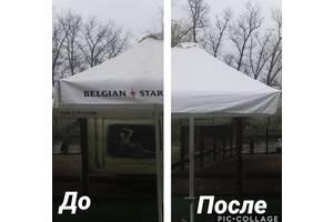 Качественная и профессиональная чистка палаток, зонтов, маркиз, шатров