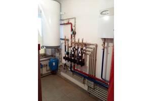 Монтаж системи опалення та водопостачання