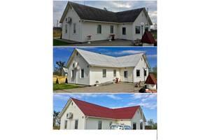 мойка и покраска крыш и фасадов