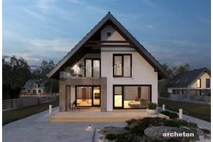 Проекти будинків з мансардою