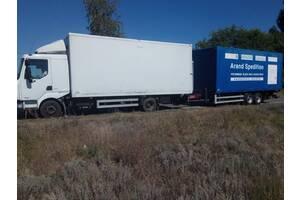 Сдам в аренду грузовик с прицепом (международные перевозки по Европе)