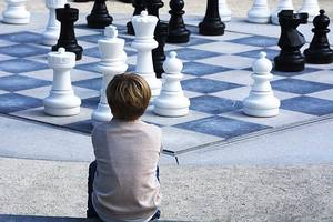 Вчу дітей грати в шахи через ZOOM