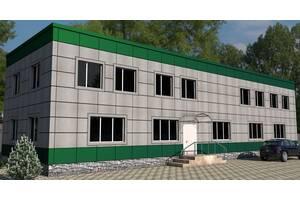 Вентильовані фасади з алюмінієвого композиту