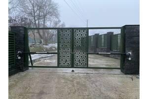 Встановлення воріт Наша Хата у Закарпатській області