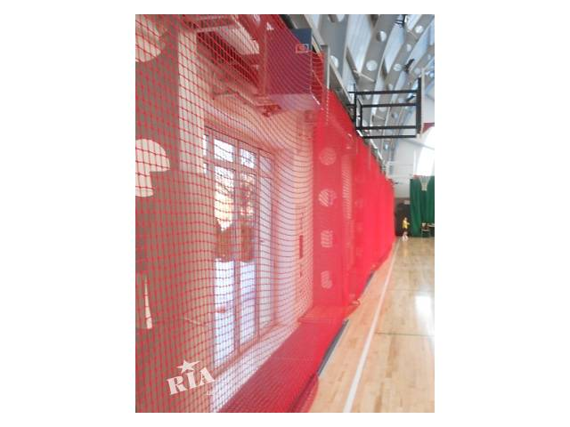 бу Сетка защитная на окна в спортзал, белая сетка и цветная сетка в Киеве