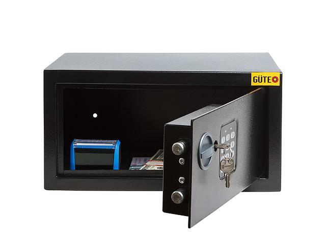 купить бу Сейф Gute 22E для документов формата А4 для дома и офиса (ШхВхГ: 35х18х26 см.) в Львове