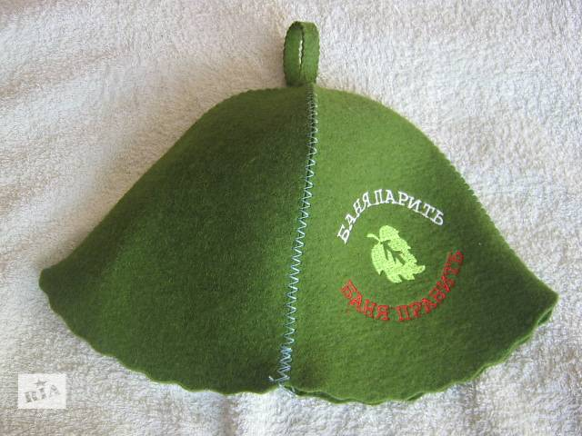 шапка для бани,сауны- объявление о продаже  в Луцке