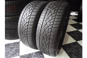 Шины б/у 225/60/R16 Dunlop Sp Winter Sport 3D Зима 6,19мм 2016г  205/215/225/55/60/65