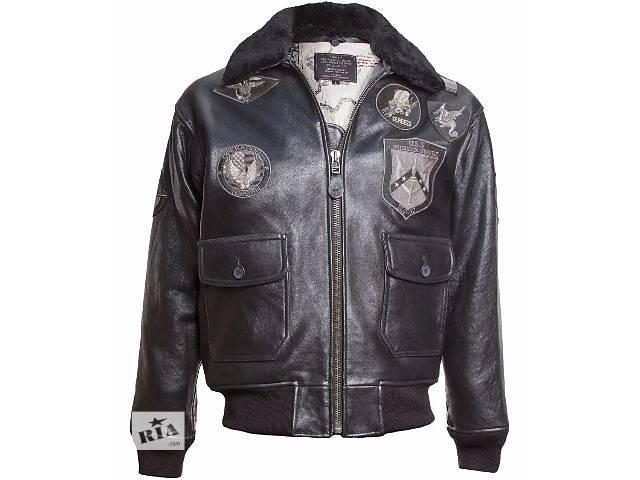 продам Кожаная куртка Top Gun, США бу в Львове