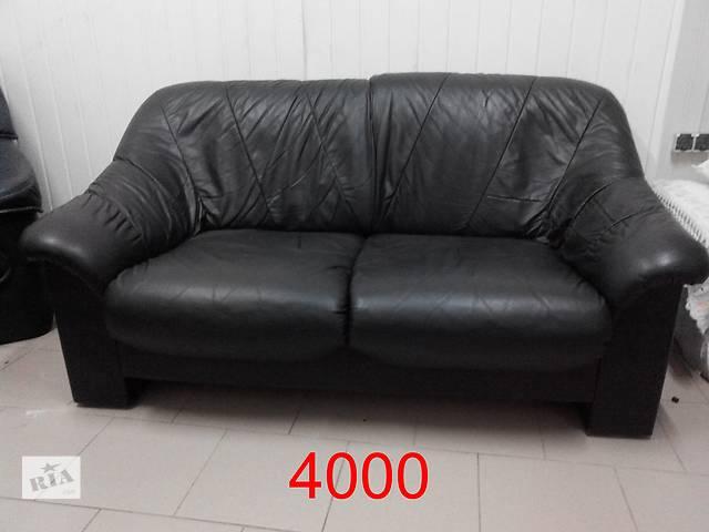 Шкіряні двомісні дивани,розпродаж- объявление о продаже  в Львове