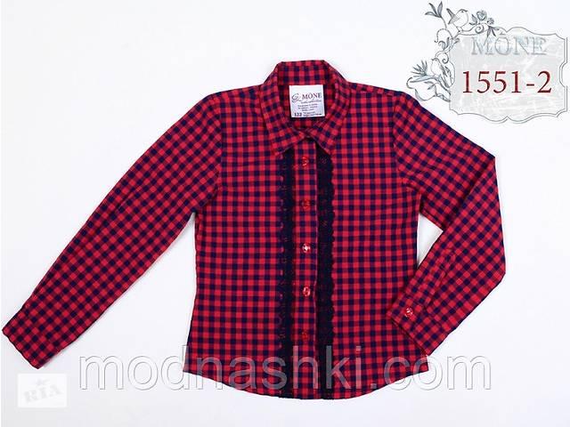 Хлопковая блузка с коротким рукавом MONE р-ры 122,128,134- объявление о продаже  в Киеве