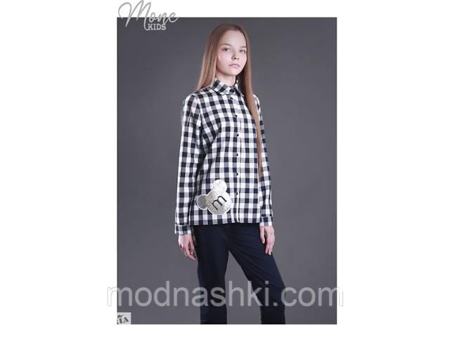 бу Хлопковая рубашка с длинным рукавом МОНЕ р-р 152 в Киеве