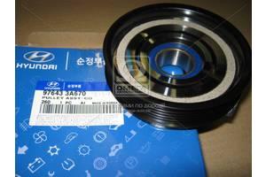 Шкив компрессора кондиционера Hyundai Elantra/SantaFe/Trajet 00-/Tucson 04-/Sorento 06 (пр-во Mobis)