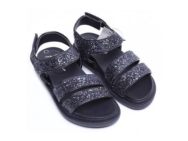 продам 03-24 Черные с блестками женские сандалии Primark Atmosphere Ren бу  в Києві 9c136f0468234