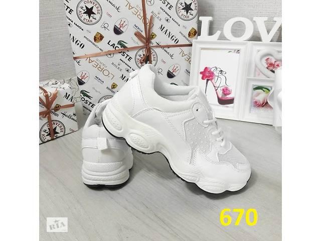 Білі кросівки на масивній підошві Баленсиагаа - Жіноче взуття в ... ff5a008b8ab6b