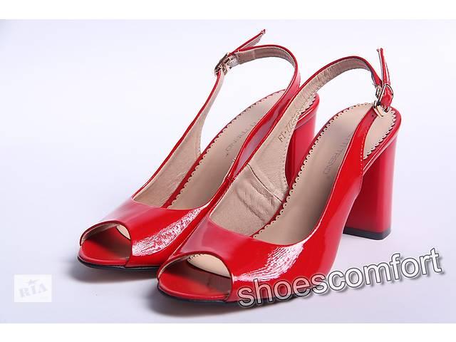 Босоніжки жіночі Foletti M - 94 лакова шкіра червоні - Жіноче взуття ... 16c84c2ef240e