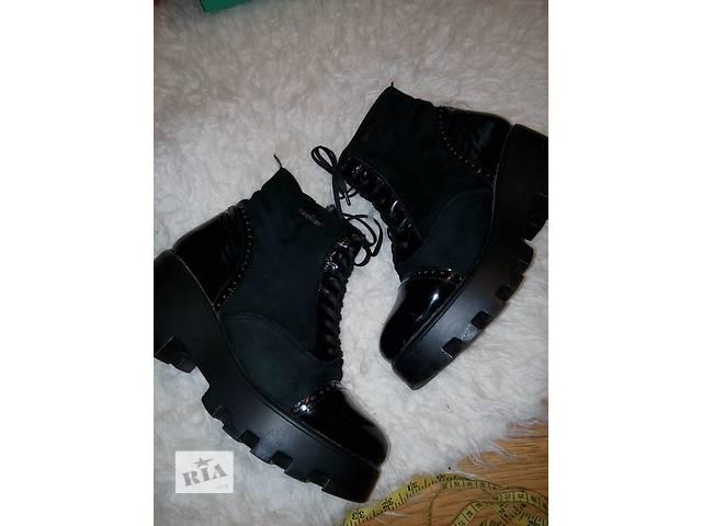 Черевики жіночі шкіряні черевики зимові черевики на тракторній підошві-  объявление о продаже в Кривому Розі e56e6da3cb2
