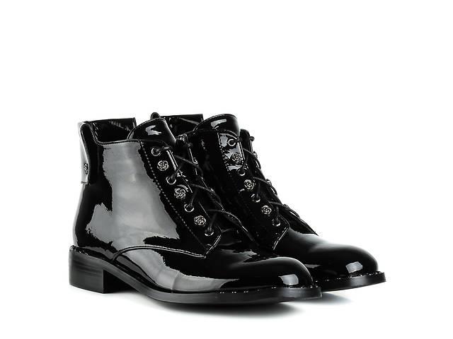продам Ботинки женские SP LION (черные, стильные, удобные) бу в Червонограде