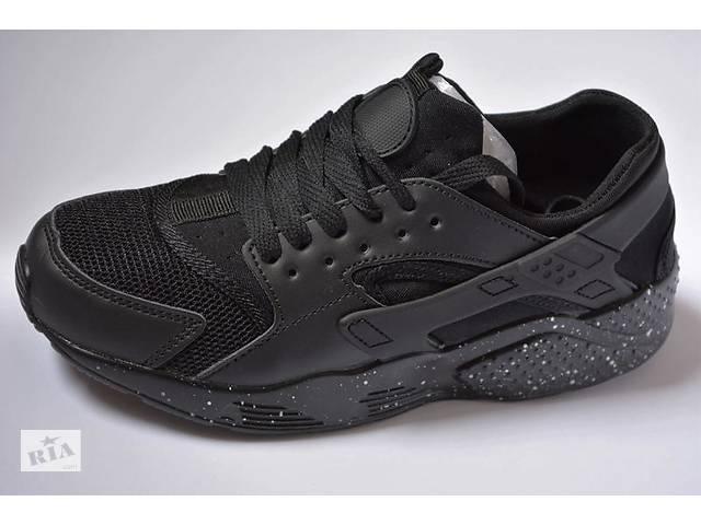 5854c901 Кроссовки женские Nike air Huarache black найк хуарачи черные- объявление о  продаже в Южноукраинске