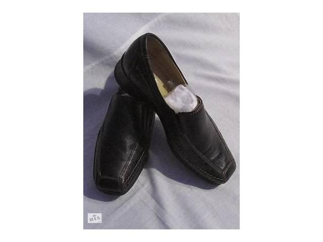купить бу Нові шкіряні туфлі –лофери Go Soft (Італія), р.37,5-38 в Києві