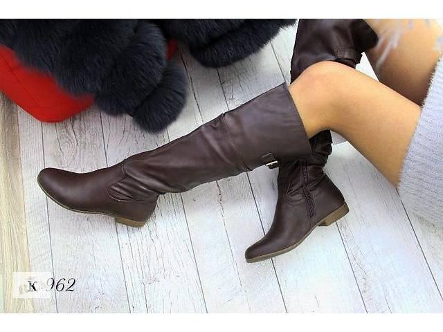 купить бу Шалені Демі чоботи-ботфорти на флісі. Р-36-23. 5 см в Рубіжному