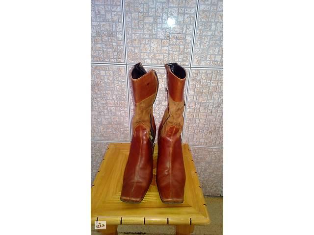 Чоботи демисезон шкіра 36 розмір - Жіноче взуття в Хмельницькому на ... e4438b2d5ea21
