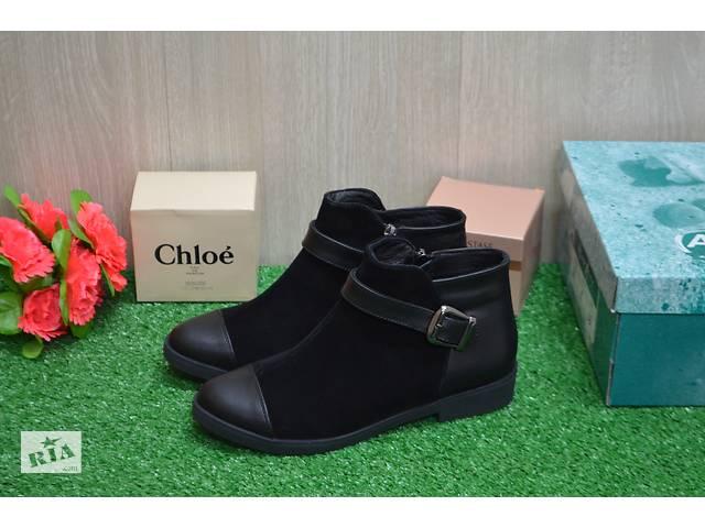 продам Женские демисезонные ботинки бу в Хмельницком