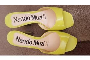 Новые Шлепанцы Nando Muzi