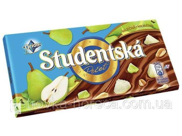 Шоколад Studentska Hruska