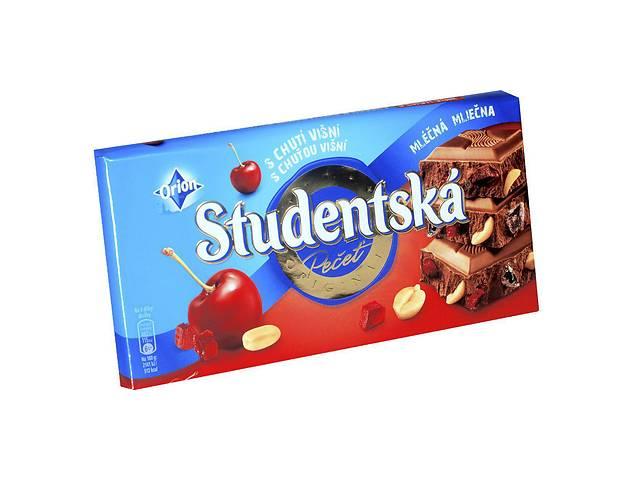 Шоколад Studentska Mlecna Visna