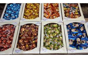 Шоколадные конфеты.коробки 1кг