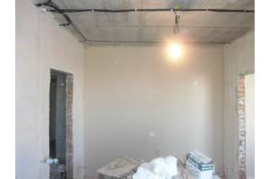 Шпаклёвка стен и потолков