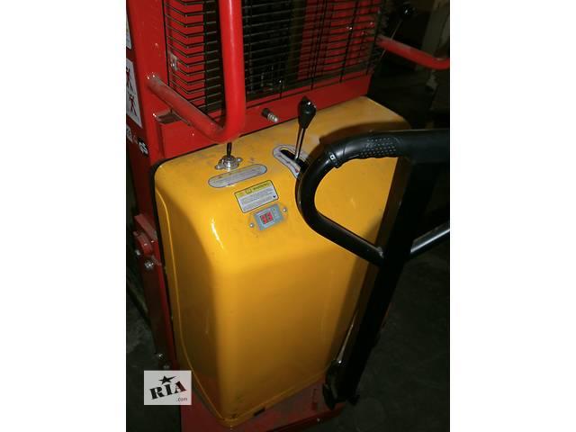 купить бу Штабелер с электроподъемом SPN1525 с зарядным устройством, б/у, продам в Киеве