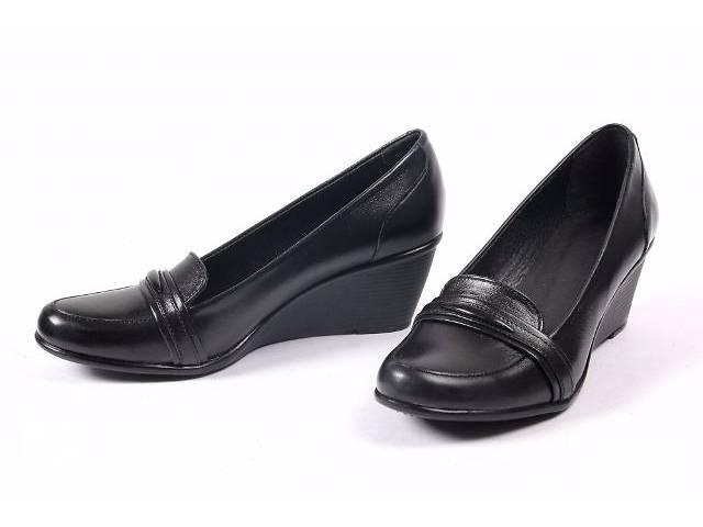 продам Шикарные кожаные туфли, 37р - 24см, Новые бу в Киеве