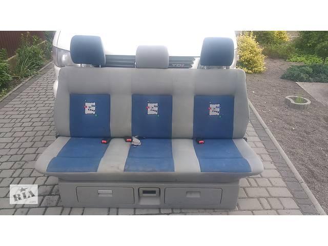 бу сидіння т4 , диван фольксваген транспортер мультиван каравелла  Б/у сиденье для Volkswagen T4 (Transporter) в Яворове
