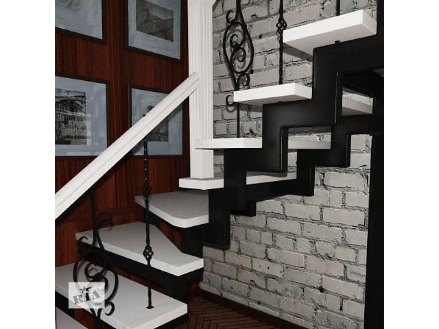 Лестницы деревянные с коваными элементами- объявление о продаже  в Луцке