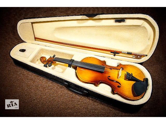 купить бу Скрипка Melody 4/4 + смычок, кейс (футляр), канифоль. Новая! в Киеве