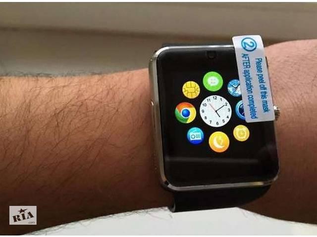 купить бу СМАРТ ЧАСЫ-телефон Smart Watch GT-08 смартгодинник с SIM-картой в Черновцах