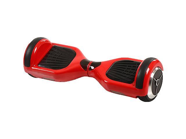 """Смартвей  red, 6.5"""" Цена дня со скидкой -30%  Цвет красный Тип Гироскутер Батарея Samsung 36V4,4AH Два мотора по 350W Максимальная скорость 15.0 км/ч Диаметр колес 6.5 дюймов Возрастная группа: Для взрослых Максимальная нагрузка: 100 кг Количество колес: 2шт Уровень батареи: 5С Запуск Кнопка, Пульт, Звук при запуске Свет на передней части корпуса Градус наклона 15 град. Индикатор уровня заряда батареи Колеса резиновые без воздуха Bluetooth Вес 12 кг Размер 59х19х17,5см- объявление о продаже  в Кривом Роге (Днепропетровской обл.)"""